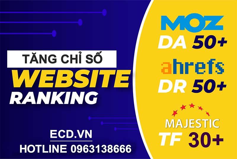 TĂNG ĐIỂM DA, DR VÀ TF CHO WEBSITE CỰC CHẤT
